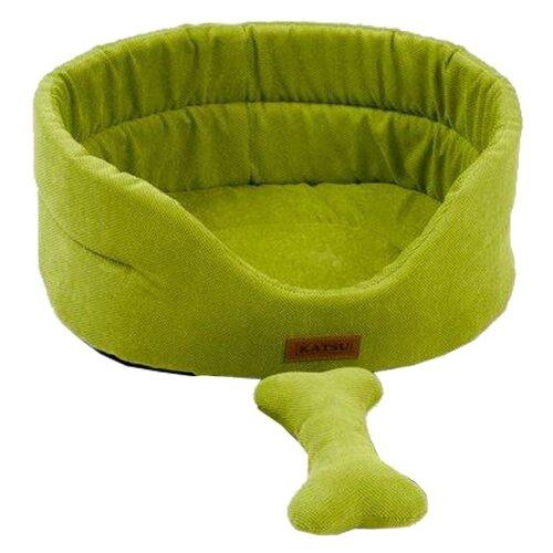 Лежак для собак и кошек Katsu Yohanka Sun 1 40х35х16 см зеленый