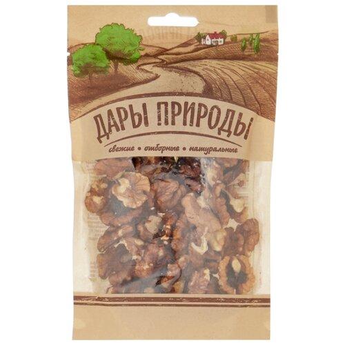 Грецкий орех ДАРЫ ПРИРОДЫ очищенный, бумажный пакет 110 г