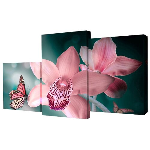 Модульная картина Toplight TL-MM1037 78х50 см картина бордовые тюльпаны трихтин модульная 2943431 125 х 73 см