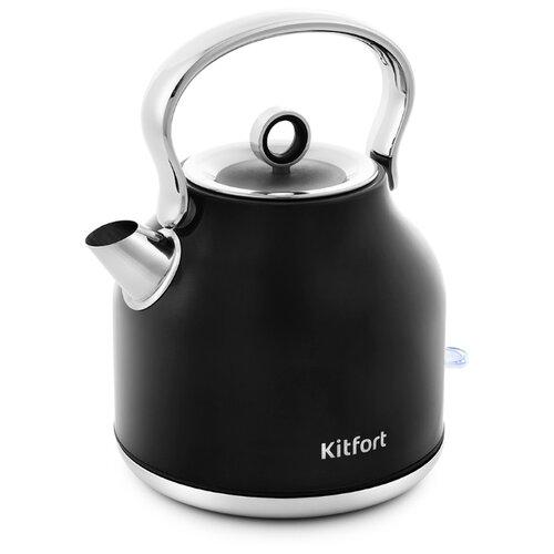 Чайник Kitfort KT-671, черный