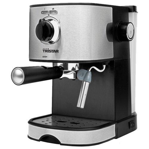 Кофеварка рожковая Tristar CM-2275 черный/серебристый вафельница tristar wf 1160 черный