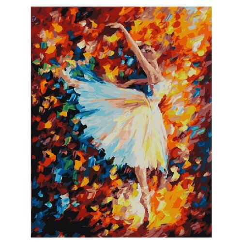 Купить ВанГогВоМне Картина по номерам Кружится в танце , 40х50 см (ZX 10145), Картины по номерам и контурам
