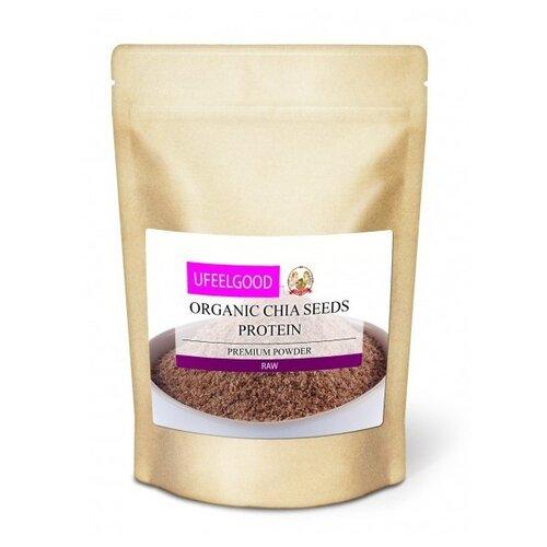 UFEELGOOD Семена чиа органические Protein, пакет 200 г