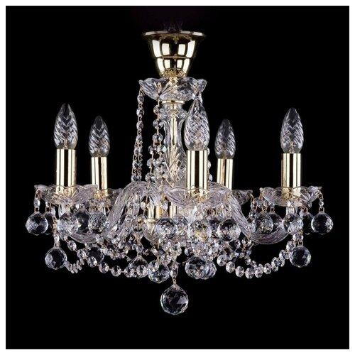 Люстра Bohemia Ivele Crystal 1402 1402/5/141/G/Balls/Tube, E14, 200 Вт bohemia ivele crystal 1402 5 141 g tube