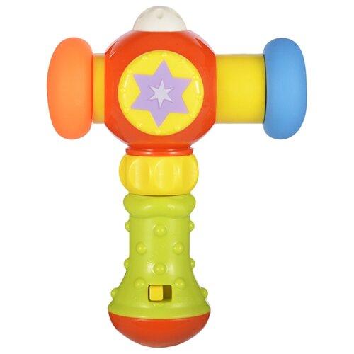 Купить Развивающая игрушка Жирафики Сияющий молоточек 939399 желтый/зеленый, Развивающие игрушки