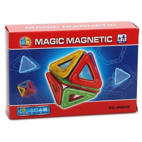 Конструктор Наша игрушка Magic Magnetic JH8840 магнитный конструктор игруша magic magnetic i jh6883