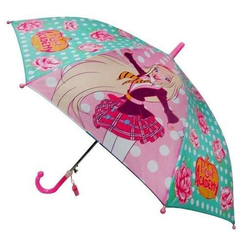 Зонт Играем вместе розовый/зеленый