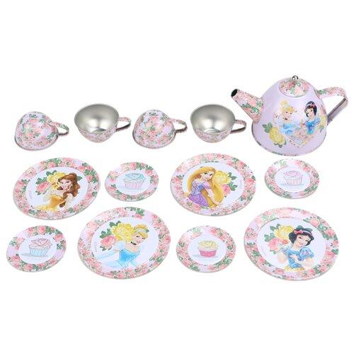 Набор посуды Hengjiang Art Ceramics Factory Королевское чаепитие DSN0201-005 розовыйИгрушечная еда и посуда<br>