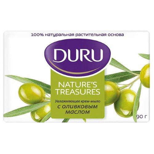 Купить Крем-мыло кусковое DURU Nature's treasures Оливковое масло, 90 г