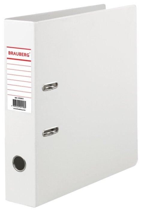 BRAUBERG Папка-регистратор Comfort A4 с двусторонним покрытием, корешок 70 мм — купить по выгодной цене на Яндекс.Маркете