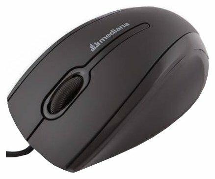 Мышь Mediana M-120 Black-Purple USB