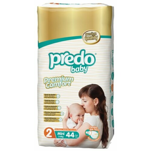 Predo подгузники 2 (3-6 кг) 44 шт. подгузники для малышей libero newborn 2 3 6 кг 94 шт
