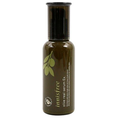 Innisfree Olive Real Serum EX сыворотка для лица с экстрактом оливы, 50 мл