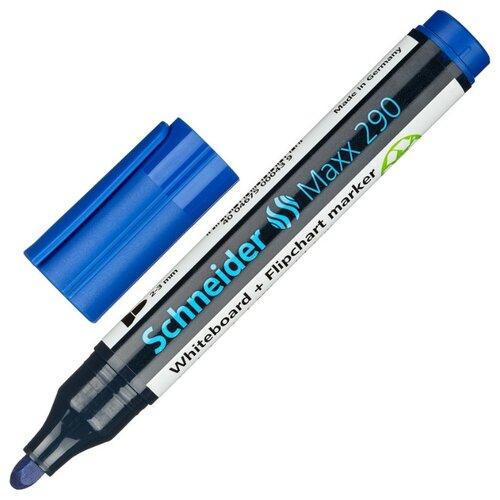 Купить Набор маркеров для досок и флипчартов SCHNEIDER Maxx 290 набор 4 цвета, Маркеры