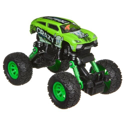 Купить Монстр-трак BONDIBON Парк техники (ВВ4579) зеленый, Машинки и техника