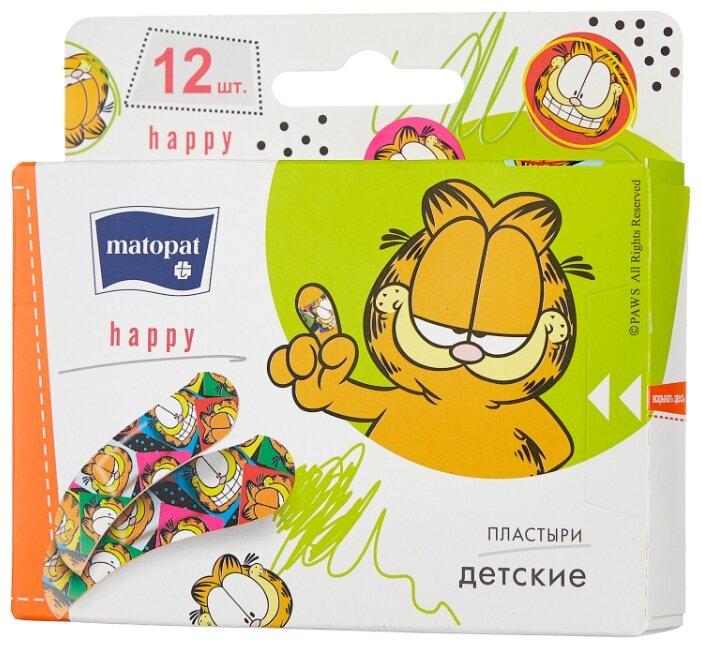 Matopat Happy пластырь защитный, 12 шт.