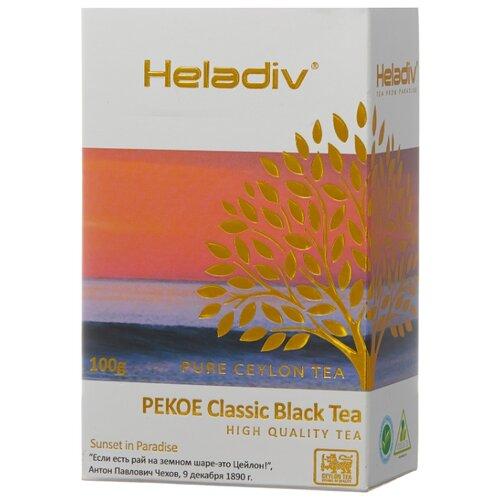 Чай черный Heladiv Pekoe Classic black tea, 100 г чай черный heladiv pekoe classic black tea 100 г 2 уп