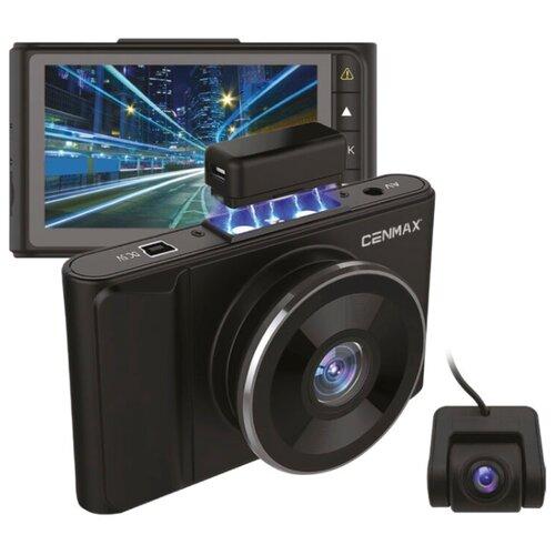 Видеорегистратор Cenmax FHD 550, 2 камеры, черный