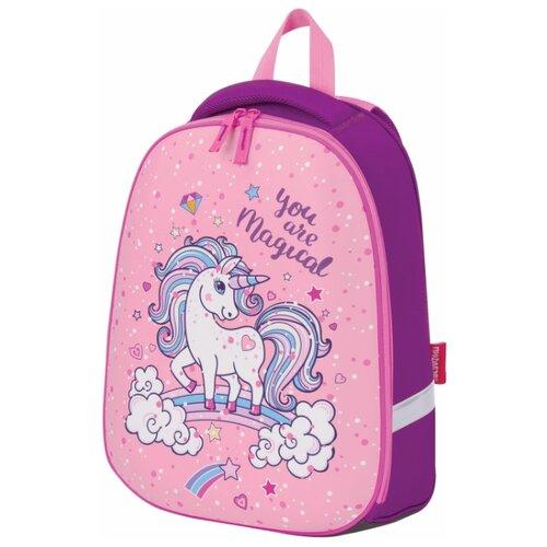 Пифагор ранец Eva Basic Unicorn (228811), розовый/фиолетовый недорого