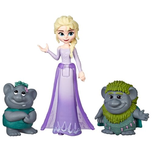 Кукла Hasbro Disney Princess Холодное сердце 2 Эльза и тролли, E7078