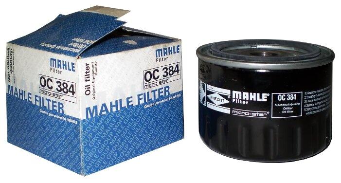 Масляный фильтр MAHLE OC384