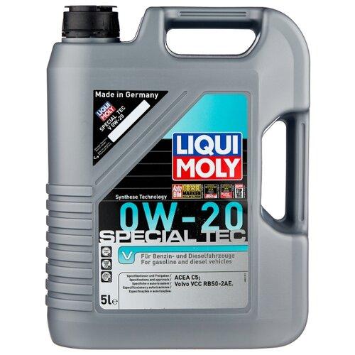 Моторное масло LIQUI MOLY Special Tec V 0W-20 5 л моторное масло mazda dexelia supra 0w 20 5 л
