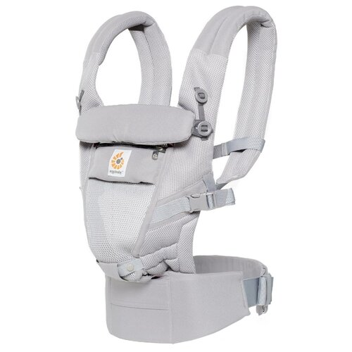Эргорюкзак Ergobaby Adapt cool air mesh pearl grey