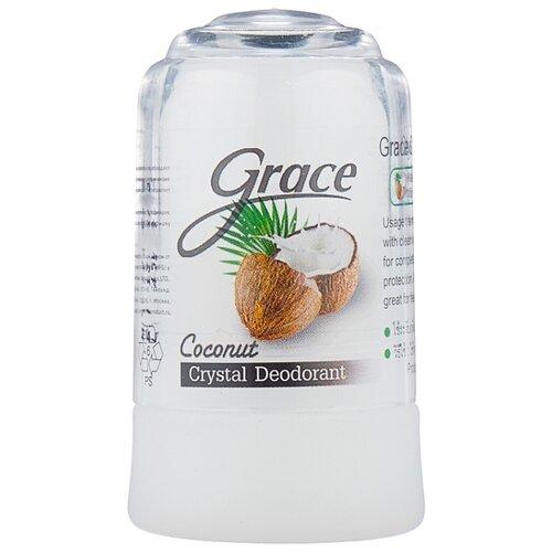 Дезодорант-кристалл Grace Coconut, 70 г grace дезодорант где купить