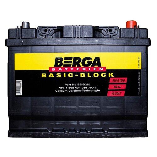 Автомобильный аккумулятор Berga BB-D26L