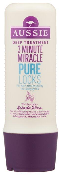 Aussie 3 Minute Miracle Средство интенсивного ухода для волос, страдающих от ежедневной укладки