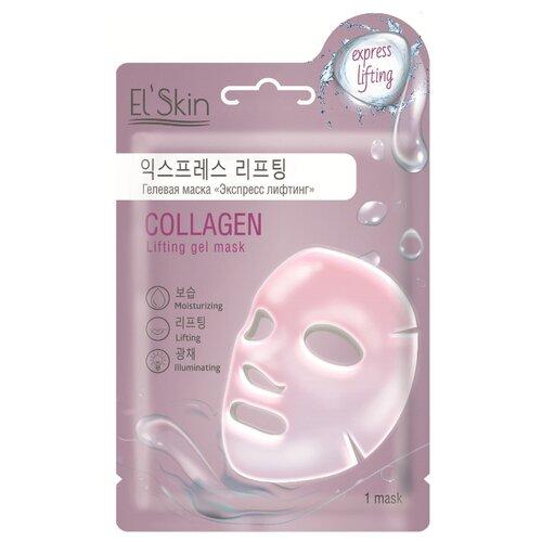El'Skin Гелевая маска Collagen Lifting Gel Mask Экспресс лифтинг, 23 г маскапатч с лифтинг эффектом triple fit lifting patch 20 г secret key mask pack