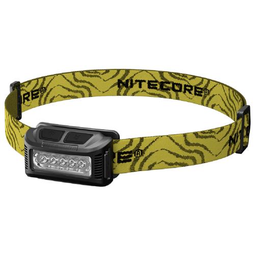 Налобный фонарь Nitecore NU10 CRI черный