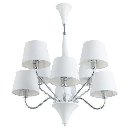 Люстра Arte Lamp Gracia A1528LM-8WH, E14, 320 Вт люстра arte lamp gracia a1528lm 5wh e14 200 вт