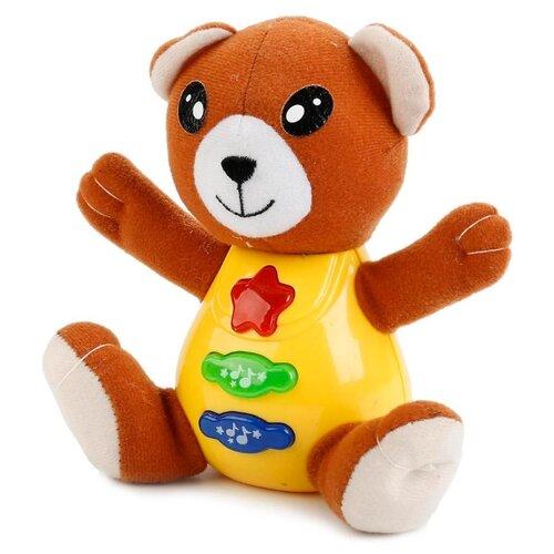 Развивающая игрушка Умка Медведь желтый/коричневый развивающая игрушка 52431 коричневый