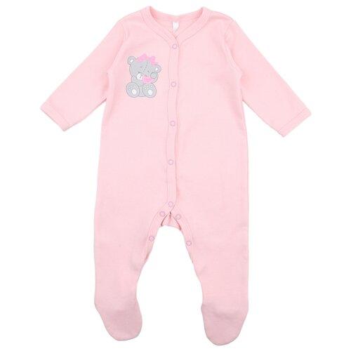Купить Комбинезон Leader Kids размер 68, розовый, Комбинезоны
