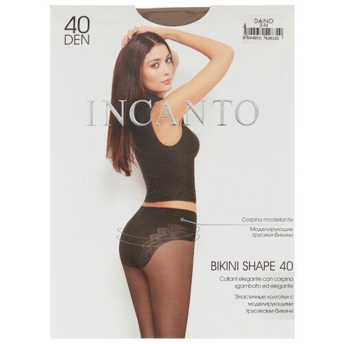 цена Колготки Incanto Bikini Shape 40 den, размер 3, daino (бежевый) онлайн в 2017 году