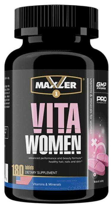 Минерально-витаминный комплекс Maxler VitaWomen (180 таблеток)