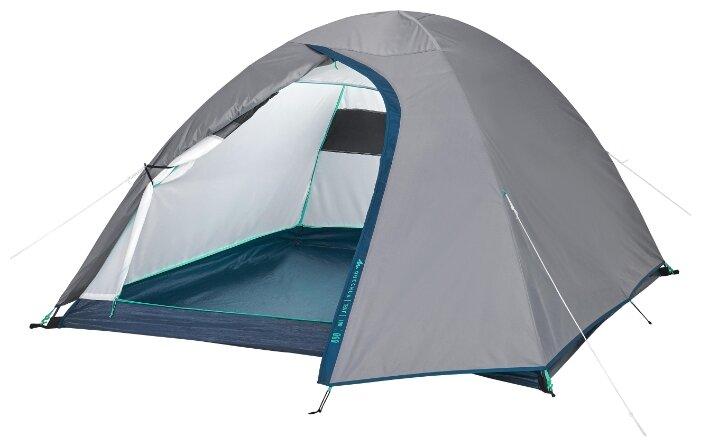 Палатка Quechua MH100 на 3 человека — купить по выгодной цене на Яндекс.Маркете