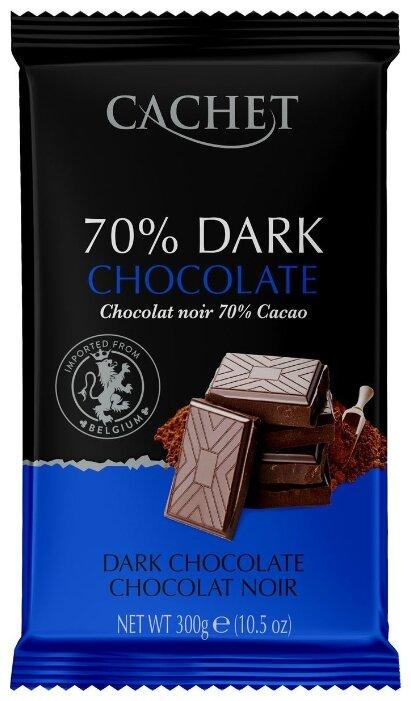 Шоколад Cachet горький 70 %