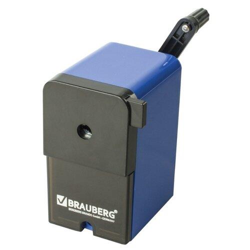 BRAUBERG Точилка RoboBlue 222515 черный/синий