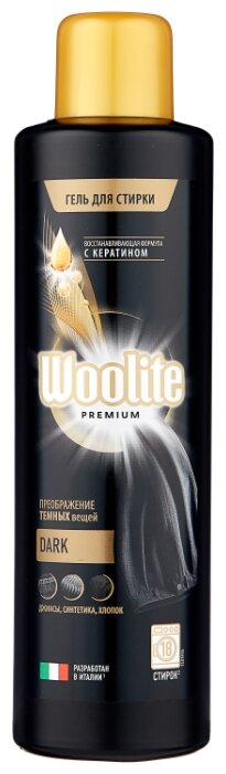 Гель для стирки Woolite Premium Dark