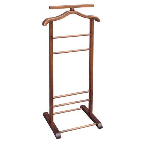 Напольная вешалка Мебелик В 6Н темно-коричневый напольная вешалка мебелик вешалка напольная в 33н
