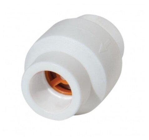 Обратный клапан одностворчатый Kalde Обратный клапан 25 муфтовый (ВР/ВР), полипропилен