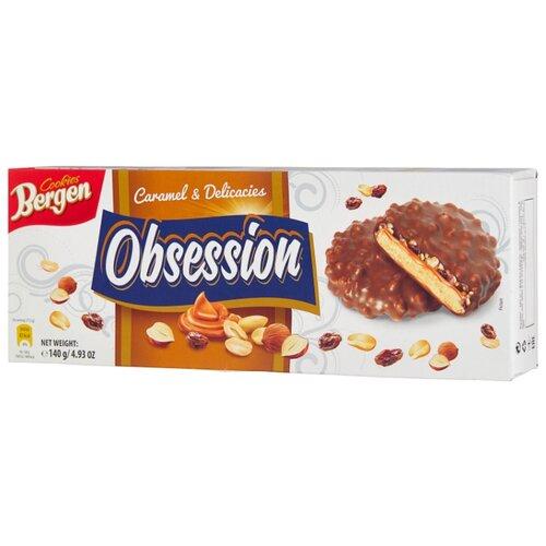 цена на Печенье Bergen Caramel & Delicacies Obsession с изюмом 140 г