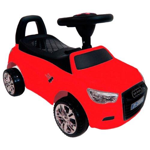 Купить Каталка-толокар RiverToys Audi JY-Z01A со звуковыми эффектами красный, Каталки и качалки
