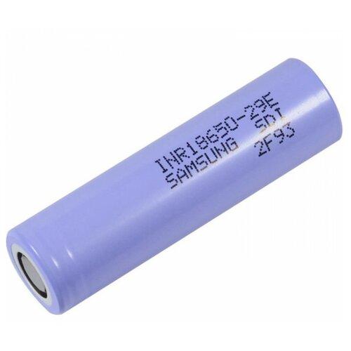 Фото - Аккумулятор Li-Ion 2800 мА·ч Samsung INR18650-29E, 1 шт. аккумулятор li ion 550 ма·ч robiton 16340 кол во в упаковке 2 шт