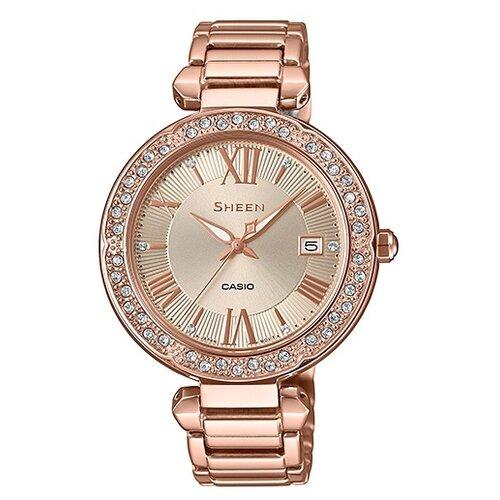 цена Наручные часы CASIO SHE-4057PG-4A онлайн в 2017 году