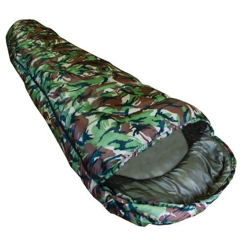 Спальный мешок Novus Camo зеленый/коричневый