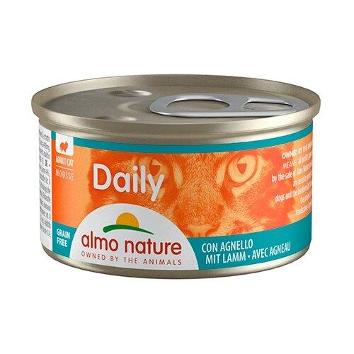 Фото - Корм для кошек Almo Nature Daily Menu с ягненком 85 г консервы для кошек almo nature нежный мусс с уткой 85 г