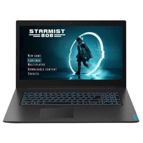 Купить Ноутбук Lenovo Ideapad L340-17IRH Gaming (Intel Core i5 9300H 2400 MHz/17.3 /1920x1080/16GB/1256GB HDD+SSD/DVD нет/NVIDIA GeForce GTX 1050/Wi-Fi/Bluetooth/DOS) 81LL003LRK black